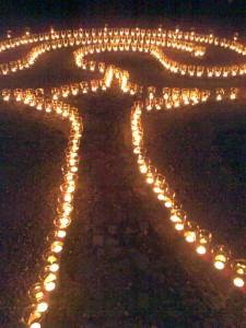 Heiligabend im Labyrinth