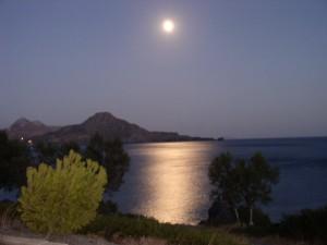 Volmond über Kreta