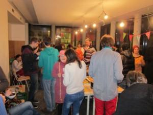 Viele Gemeinschaftsräume für Parties oder sonstige Veranstaltungen.