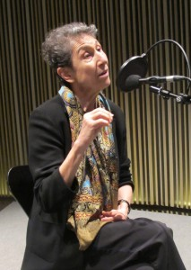 Silvia Federici bei einem Interview in Barcelona, 2012. Foto: Kippelboy - CC BY-SA 3.0 über Wikimedia Commons-