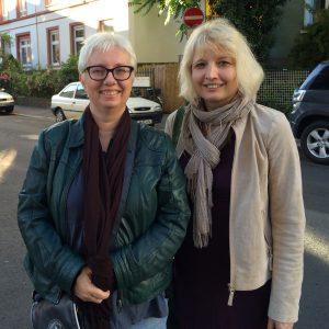 Antje Schrupp (links) und Jutta Pivecka. Foto: Juliane Brumberg