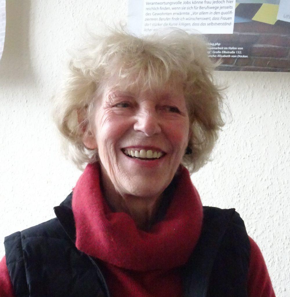 Porträt von Elisabeth von Dücker