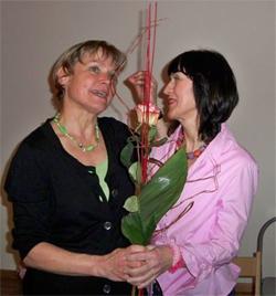 Gisela Schreiber und Lisa Kuttner