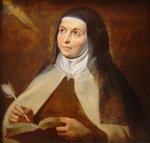 """""""Das tun, was von uns abhängt, und für den Rest sich anvertrauen"""" riet Teresa von Avila. Hier gemalt von Peter Paul Rubens."""