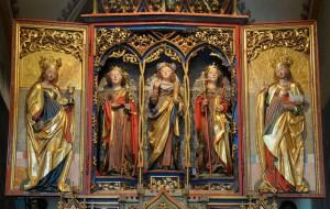 Einer der wunderschönen Südtiroler Frauenaltäre findet sich in der Kirche von Margen/Terenten.   Foto: Ida Prinoth